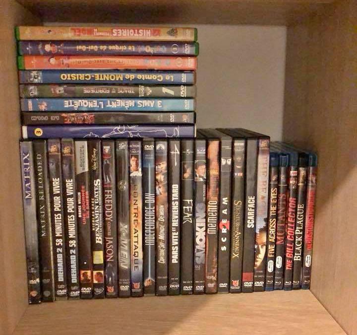 DVD au choix