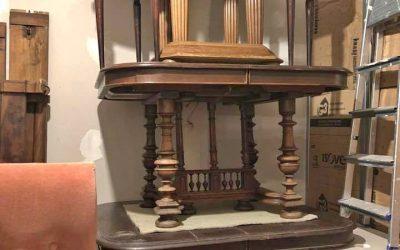 Tables carrées en bois
