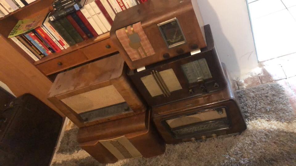 Anciens postes de radio